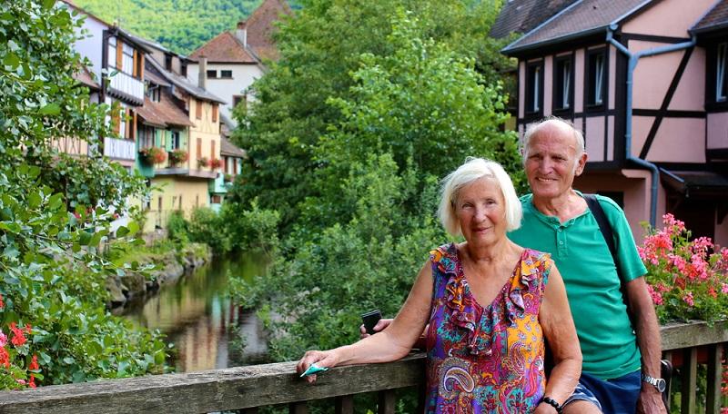 Eguisheim zu Fuss erkunden