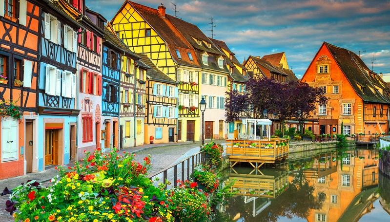 Nicht die schönste, aber eine der schönsten Städte ist Colmar. (#05)