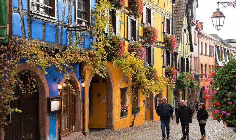 Die Städte im Elsass gehören zu den schönsten Orten Frankreichs.