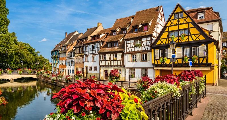 Die Fachwerkhäuser im Elsass können schon beinahe als Kulturerbe bezeichnet werden, obgleich sie das streng genommen natürlich nicht sind.