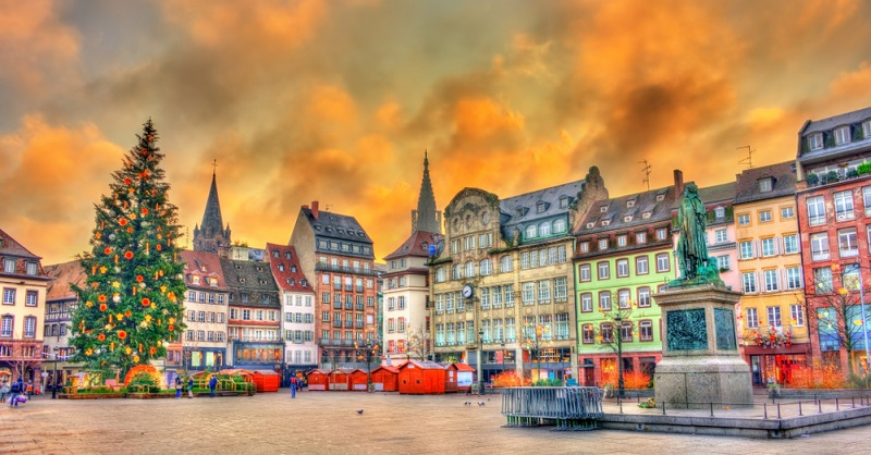 Zu den Sehenswürdigkeiten im Elsass gehören in jedem Fall die Fachwerkhäuser dazu.